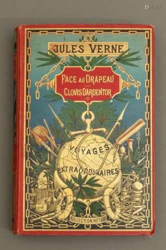 Jules VERNE Face au drapeau, Clovis d'Ardentor Ill…