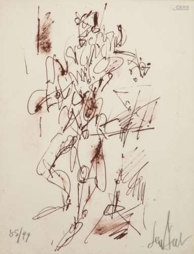 GEN PAUL (1895 1975) Violinist Lithograph signed, …