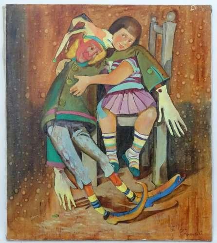 Irina Stolyarova, 2006, Ukrainian / Russian School, Oil on canvas,