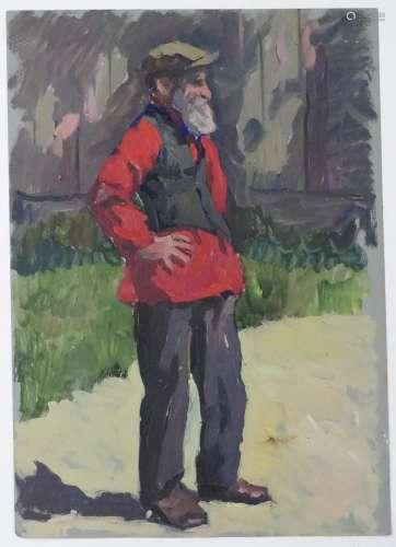 Alexander Mikhailovich Gegunov, 1980, Ukrainian / Russian School, Oil on artist's board,