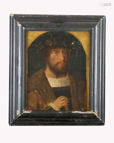 Bartholomeus Bruyn (1493 1555) school, Portrait of…