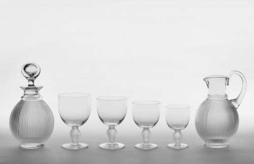 CRISTAL LALIQUE   - Service de verre modèle