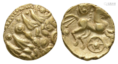 Essex Chariot Wheel - Gold Quarter Stater