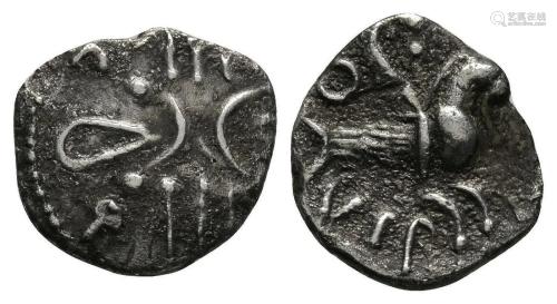 Catuvellauni - Tasciovanus - Silver Capric…