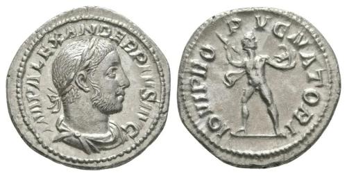 Severus Alexander - Jupiter Denarius