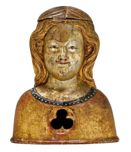 RELIQUARY BUST, Rhenish, 1st half of the 14th cent…