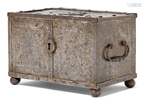 IRON COFFER, Renaissance, Germany, probably Augsbu…