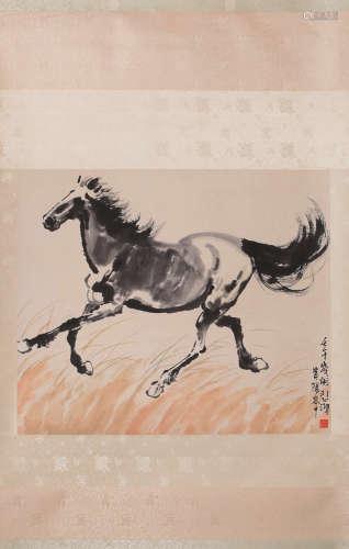 Xu Beihong Hourse Painting