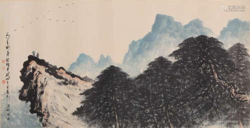 SHAN-YUEH KUAN and Li Xiongcai  Painting