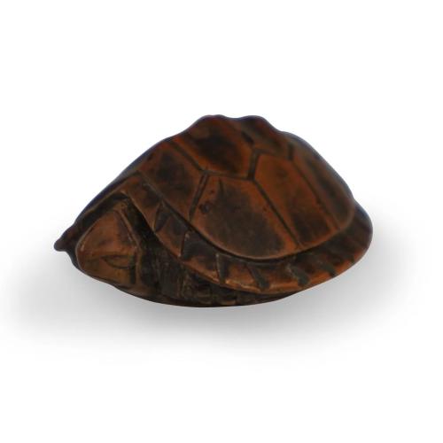Japanese Carved Turtle Netsuke
