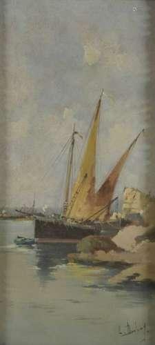 Louis DUPUY (1854 1941) dit GALIEN LALOUE Sailing …