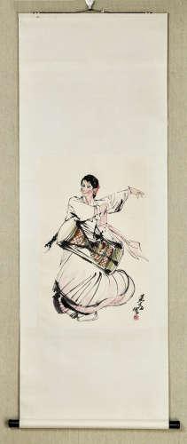 A DANCING LADY BY HUANGZHOU