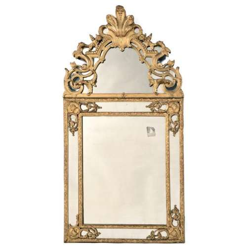 MIRROR WITH WINGED DRAGONS, REGENCY EQUIPMENTRecta…