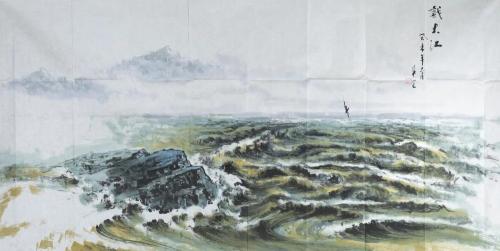 Zhu Mang, Big River, 2003.