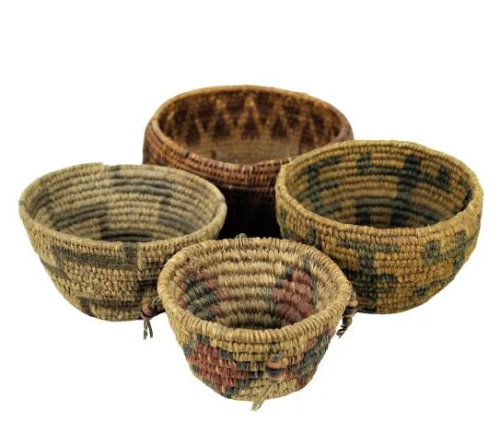 Collection of Native American Indian Baskets