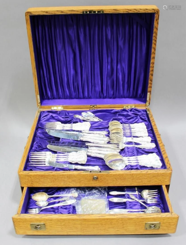 Box Set of Sterling Silver Utensils