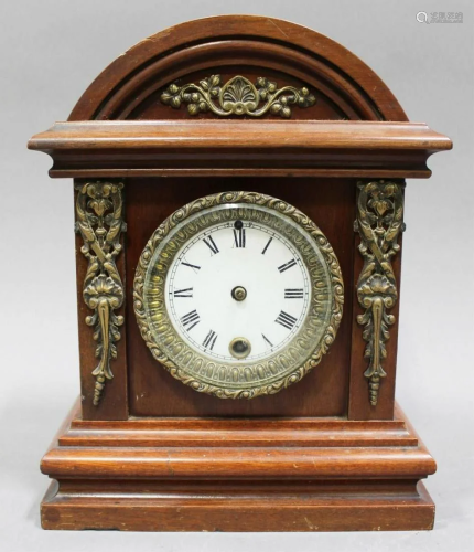 Rosewood Mantle Clock, 1890s