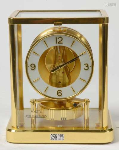 Atmos clock in brass and plexiglass. By Jaeger LeC…