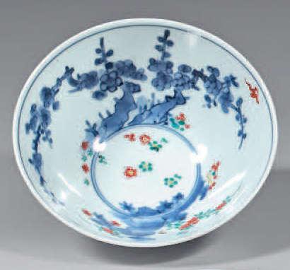 Small porcelain bowl from Japan. Circa 1700. Kakie…