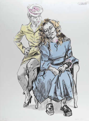 Dame Paula Rego R.A. (British, born 1935) Mother with Big Daughter