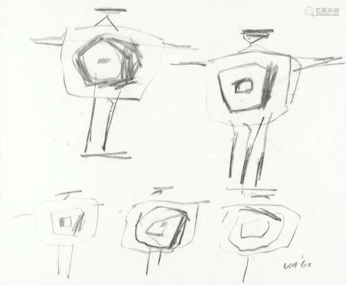 Kenneth Armitage (British, 1916-2002) Studies for Sculpture