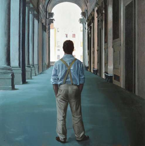 λ Iain Faulkner (Scottish b.1972), Uffizi III
