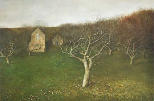 λ Andrew Hemingway (British b. 1955) , The Orchard
