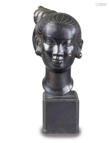 THAN LE N'GUYEN (1919 2003) Portrait d'une jeune …