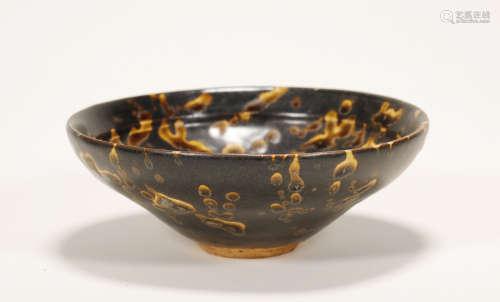 Song Dynasty - Jizhou Ware Black Glaze cup