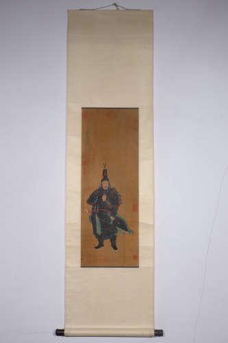 Chinese Gongning Shilang'S Painting