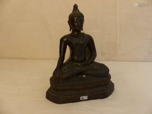 Sitting bronze Buddha. Ancient Thai work. Height: …