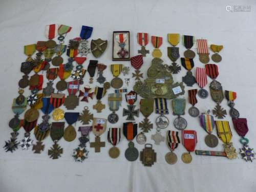 A batch of 70 military medals. Period: 19th and 20…