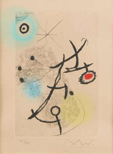 Joan Miró (1893-1983) Ponts Suspendus