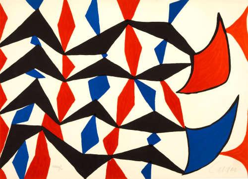 Alexander Calder (1898-1976) Mes Etoffes