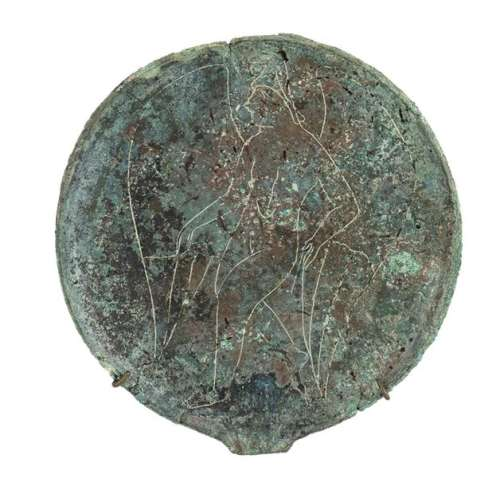 ETRUSCAN BRONZE MIRROR 4th 3rd century BC diam. …
