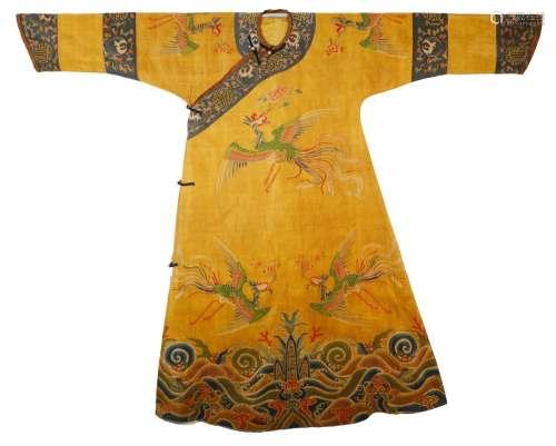 Qing Dynasty - Kesi Phoenix Robe