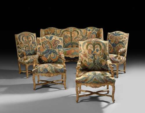 Epoque Regency period furniture from the old colle…