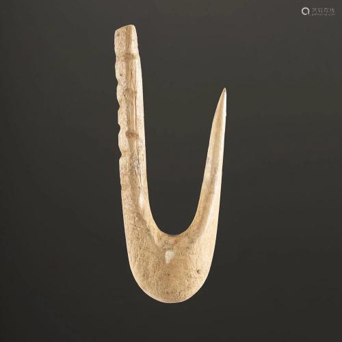 A Bone Fish Hook, 2-1/8 in.