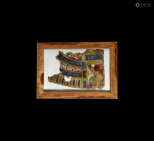 Egyptian Cartonnage Fragment