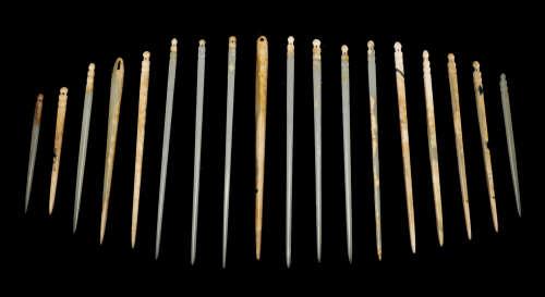 Shang Dynasty - Set of Jade Hairpins