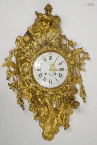 路易十五风格的镀金青铜烛台,饰有