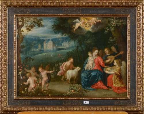 SNELLINCK Andries  (1587 - 1653). Attribué à.