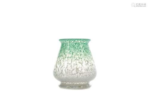 A MONART GLASS VASE