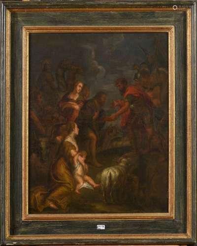 RUBENS Pierre Paul (1577 - 1640). Suiveur de.