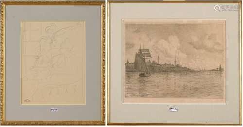 LEMMEN Georges (1865 - 1916), VAN RYSSELBERGHE Théo (1862 - ...