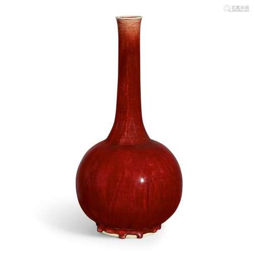 A large Langyao bottle vase Qing dynasty, Kangxi period | 清...