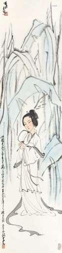 Li Keran 李可染 | Lady with a Fan 蕉蔭逭暑