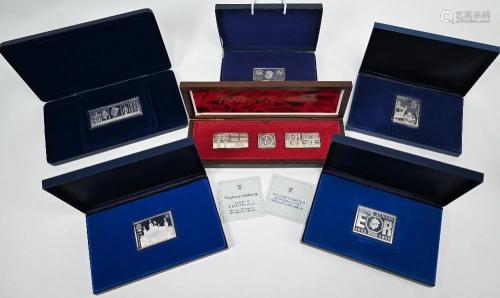 Royal commemorative silver ingots