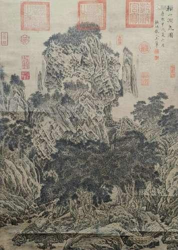 chinese wang jun's painting