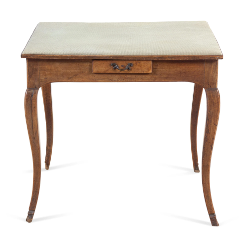 A Louis XV Provincial Fruitwood Game Table